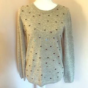 J. CREW COLLECTION | Sequin Cashmere Sweater